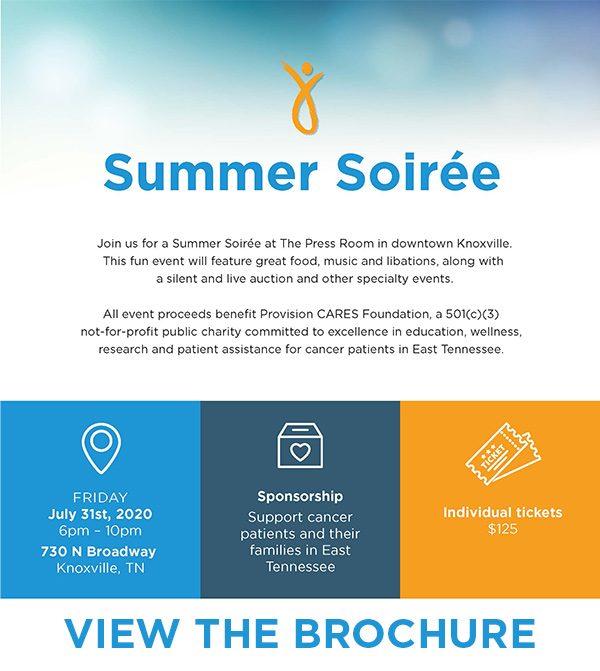 Click to view the Summer Soiree Brochure