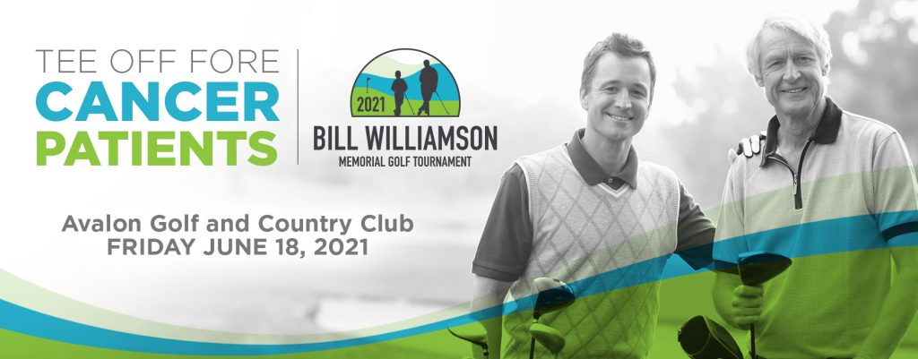 The 2020 Bill Williamson Memorial Golf Tournament is Friday, October 16, 2020 at Avalon Golf and Country Club